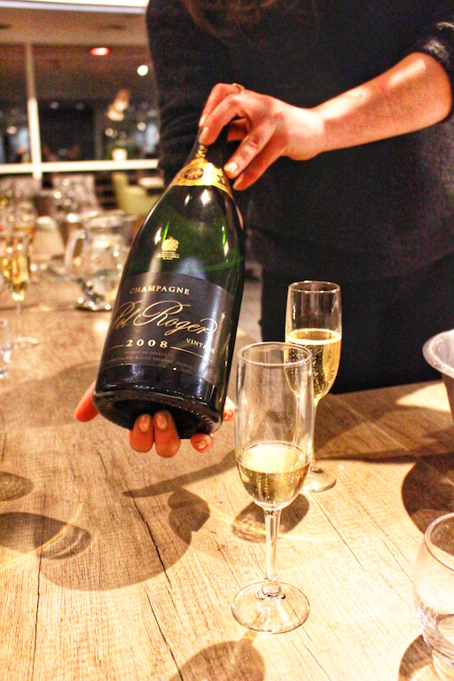 Champagne Tasting with the Food and Wine Society