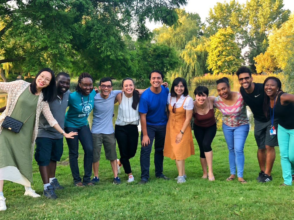 Chevening Scholars at University of Surrey