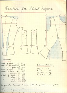 Katharine C Hill, bodice for stout figure 001