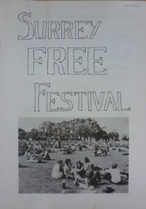 Free Festival 1970 Report