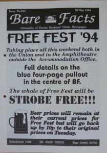 Free Fest 1994