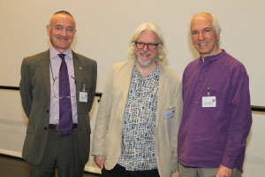 Professor Phil Powrie, Professor Steve Goss are joined by John Williams