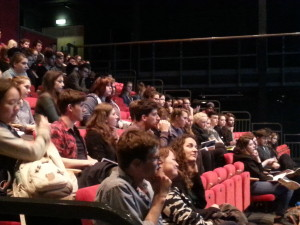 'Careers in the Arts' audience
