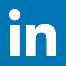 LinkedIn Logo, In inside a blue box