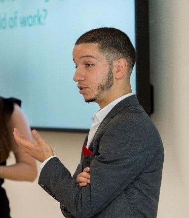 Photograph of Careers Ambassador, Ahmed