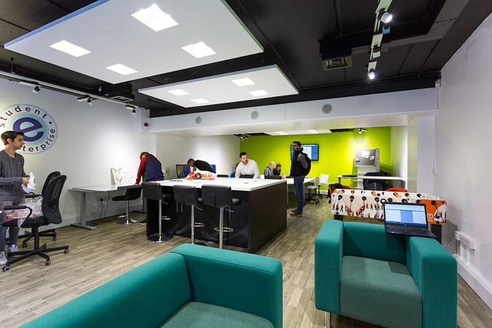 Interior of Student Enterprise