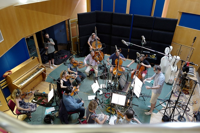 A photo I took during a recording session for the ITV show Unforgotten at Abbey Road Studios which got used on Abbey Road's website