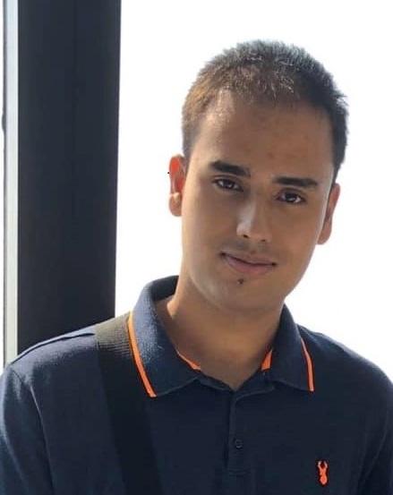 a portrait shot of Arjun