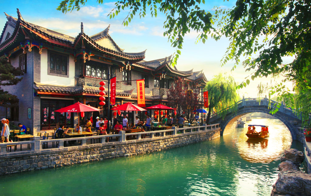 Traditional Chinese Town