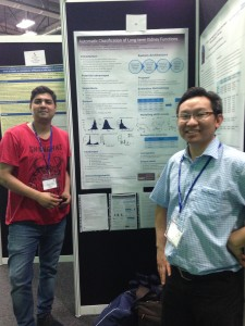 Norman and Santosh at BRS 2015 conference