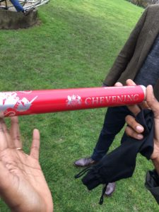 ...chevening scholars relay baton at Surrey
