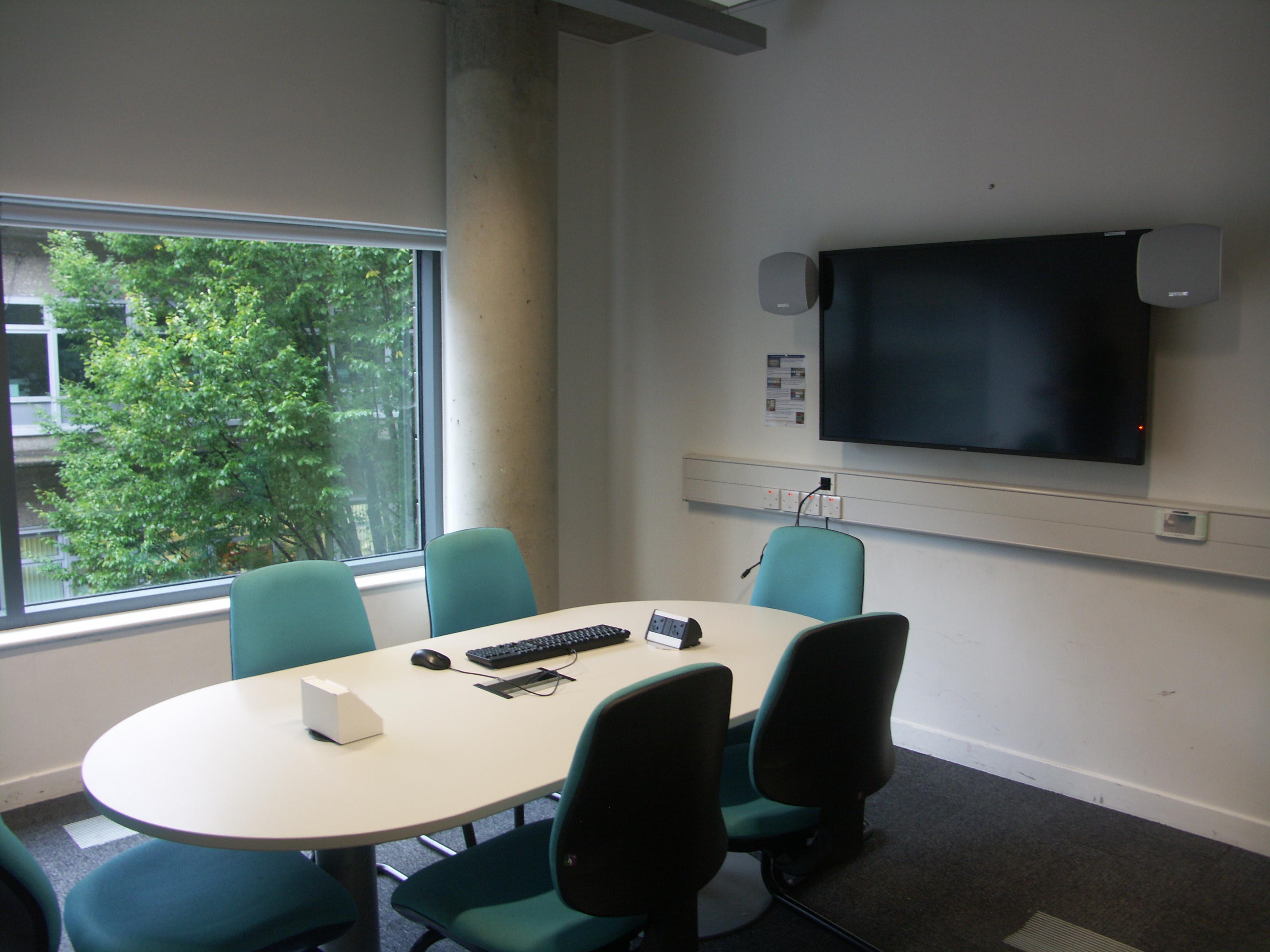 New AV facilities in Group Study Room 3