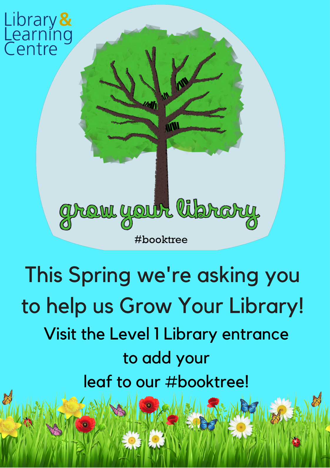 Grow Your Library Noticeboards Poster