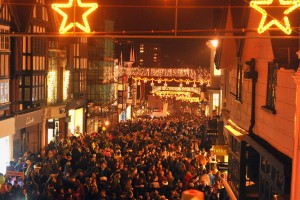 Guildford Christmas lights 2014