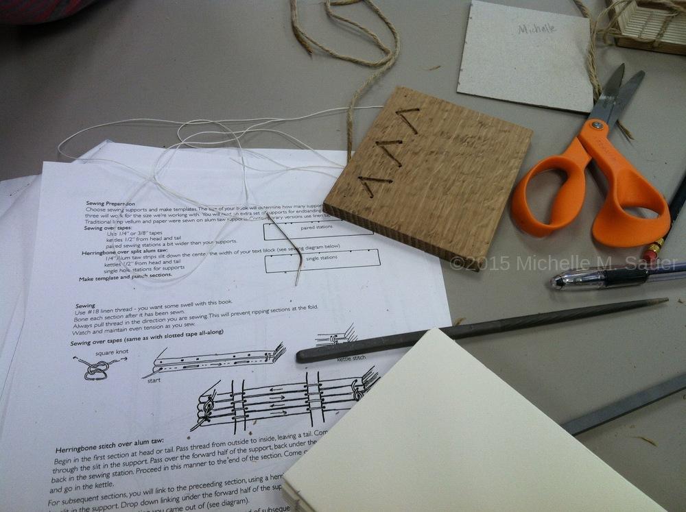 Sauer book preparation