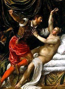 Tarquinius and Lucretia