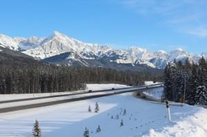 Calgary/Banff Highway 1