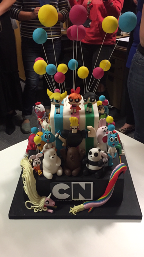 Cartoon Network cake