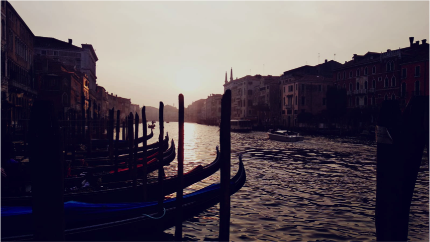 Venice in the afternoon