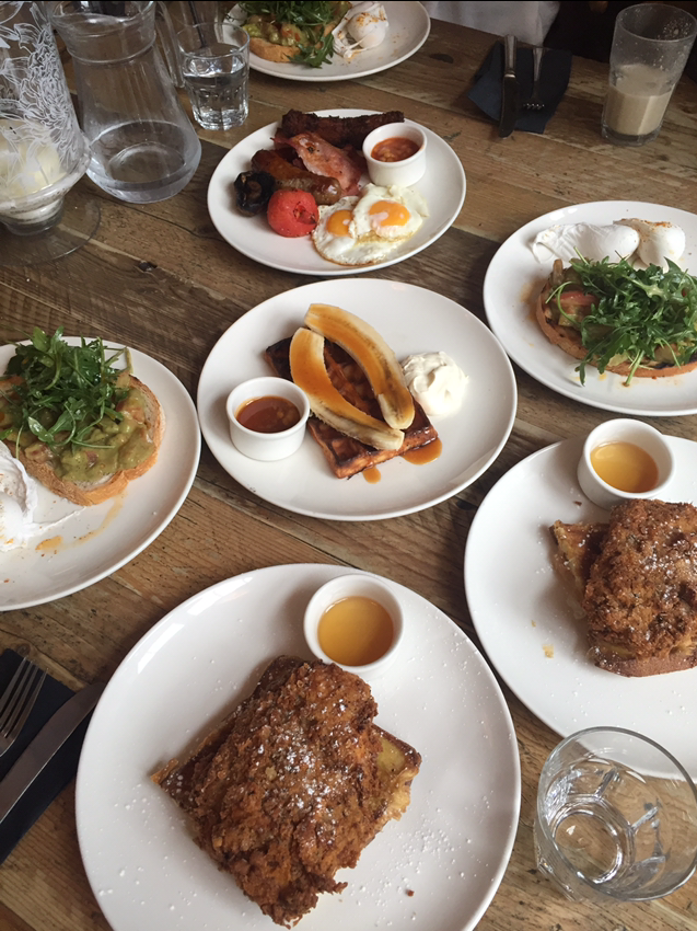 A free team breakfast from Kingly Court, Carnaby Street