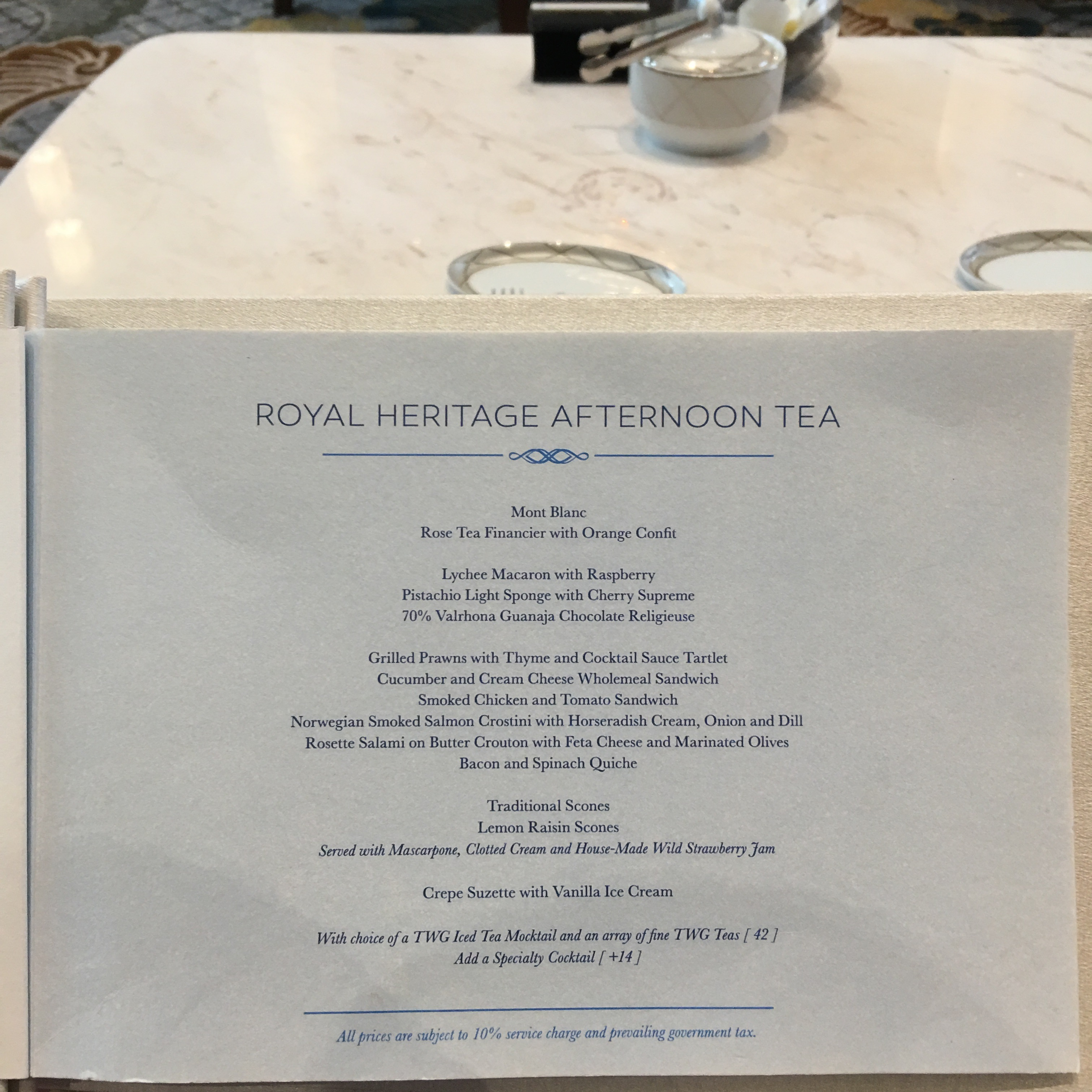 Afternoon Tea for Three Please! Intercontinental Singapore  | Surrey