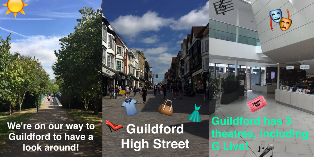 A tour of our wonderful hometown, Guildford