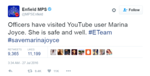 savemarinajoyce-police-tweet