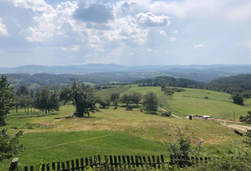 View of Serbian landscape