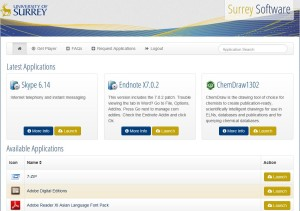 SurreySoftwareHomePage